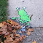デイビッド・ジン(ストリートアート)の作品、場所、wiki経歴を紹介!チョーク3Dアートが可愛すぎる!