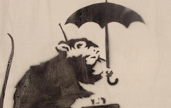 日本のバンクシー作品が本物なら価格は?ネズミの意味は?犯行声明がでた?