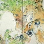 竹内栖鳳の動物画作品の解説と所感。猫、雀、ライオンが動きだす?